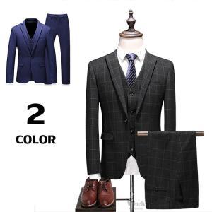 紳士服 ビジネススーツ 3ピーススーツ メンズ 1つボタン スリムスーツ スリーピーススーツ 入学式 卒業式 新生活 就職|otasukemann