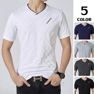 紳士服 半袖Tシャツ メンズ カジュアル Tシャツ ティーシャツ ルームウェア 部屋着 お兄系 男性用 夏|otasukemann