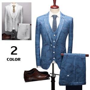 3ピーススーツ メンズ スリーピーススーツ ビジネススーツ 1つボタン 紳士 スリムスーツ 新生活 入学式 結婚式 卒業式|otasukemann