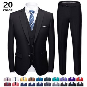 ビジネス 3ピーススーツ メンズ スリムスーツ スーツセットアップ フォマール 紳士 就職 入学式 新生活 式典 卒業式 冠婚葬祭 セール|otasukemann