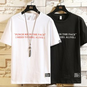 Tシャツ メンズ 半袖 無地 Tシャツ ティーTシャツ 英字 カジュアル 半袖Tシャツ ルームウェア お兄系 夏物|otasukemann
