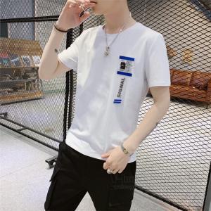 プリントTシャツ メンズ 半袖 Tシャツ アメカジ カレッジ 文字 クルーネック ティーシャツ カットソー トップス 春夏 otasukemann