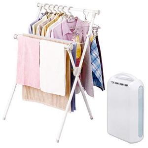 【セット】アイリスオーヤマ X型洗濯物干し 幅70cm X-700VR + 衣類乾燥除湿機 デシカント式 2.2L IJD-H20-A otc-store