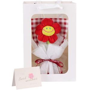 LOZIZI スマイルフラワー韓国 ぬいぐるみ花束 花束ギフト 花 造花 ギフト 贈り物 誕生日プレゼント 人気 女性 友達 子供 記念日|otc-store