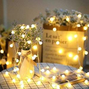 SFOUR フェアリーライト電飾led イルミネーションライト 6M40個LED 電池式 クリスマス 飾りツリー led電球庭 ライト屋外防|otc-store