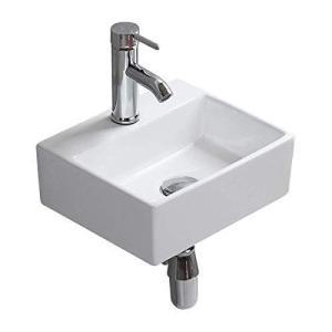 おしゃれ 洗面ボール 小型洗面ボウル 壁掛け 洗面台 洗面鉢 手洗い器 手洗いボウル 手洗台 壁付け型 浴室洗面台 小型 バルコニー 陶器製 otc-store