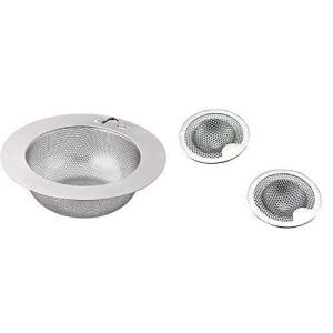 キッチン用 浅型 ゴミ受け パンチング太郎 L 17791 & 洗面台 パンチング ゴミ受け 2個組 33902【セット買い】|otc-store