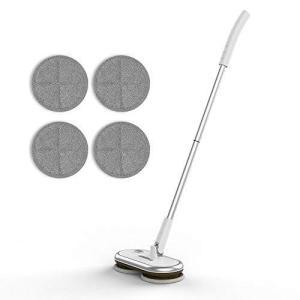 GOBOT コードレス電動モップクリーナー 回転モップ 床掃除クリーナー フロアワイパー くるくるツインモップ 回転式 掃除用品 無線操作 otc-store