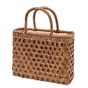 山下工芸(Yamasita craft) 山葡萄コレクション 山葡萄バッグ 二重編み 削皮 161114 92338000 otc-store