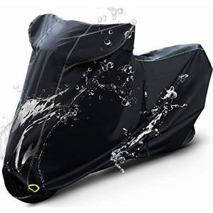 Barrichello(バリチェロ) バイクカバー ブラック M?7L 選べる8サイズ 高級 オックス 300D 使用 厚手 生地 防水 ( otc-store