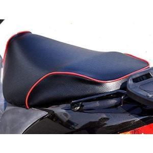 アドレスV125/G 国産厚手素材 シートカバー (ディンプル/カーボン/レッドパイピング) otc-store