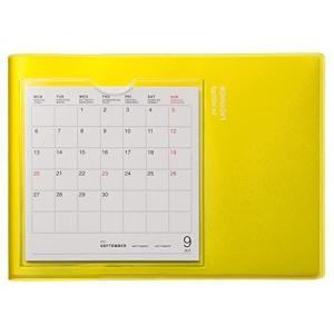 ラコニック 手帳 2022年 B6 ウィークリー カレンダーポケット イエロー LDS22-190YE (2021年 9月始まり)|otc-store