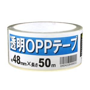透明OPPテープ (透明梱包テープ ) 幅48mm×長さ50m 30個入り|otentosun