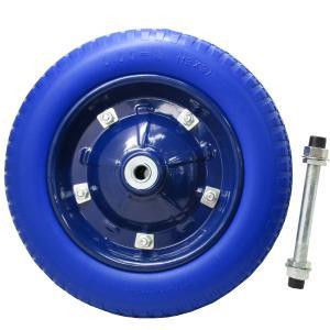 一輪車 ノーパンクタイヤ PR1302PU (予備、交換用に...