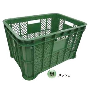 【送料無料】 採集コンテナ 12個入 [緑] [メッシュ]|otentosun