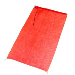 種もみ袋 (種籾ネット 消毒袋) 赤 400mm×650mm 10枚束|otentosun