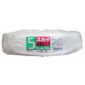 スカイ溶着ロープ 5mm × 300m|otentosun