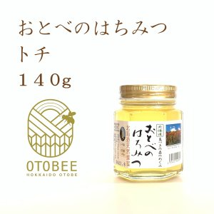 国産 非加熱 トチ 生はちみつ おとべのはちみつ 140g|otobesousei