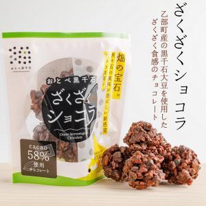 チョコレート チョコ  おとべ 黒千石 ざくざく ショコラ カカオ 大豆|otobesousei
