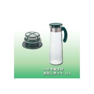Cold Brewed-Tea セット 彩(いろどり)  [初めて水出し茶をお試しの方向け、専用ポット一本と抹茶入り茶葉200gのセット]|otodoke-shopping