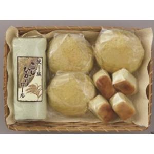究極のメロンパンとメロンスイーツS 茨城県産JA旭村のクインシーメロンっを使ったメロンパンひとくちチーズケーキメロン味、茨城こしひかりロール|otodoke-shopping