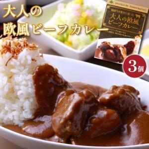 【銀座クローバー】【欧風ビーフカレー】3個セット 銀座でしか食べれない1日30食限定の高級カレーが遂にご家庭で味わえます!|otodoke-shopping