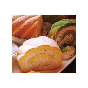「茶句庭ながの」  抹茶・紅茶ロールケーキ 17cm×2本スイーツセット|otodoke-shopping