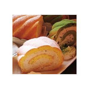 「茶句庭ながの」 抹茶・紅茶ロールケーキ16cm×2本スイーツセット|otodoke-shopping