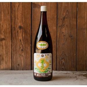【送料無料】コヤマダ(小山田産業)の菜種(なたね)油一升瓶1本完全無添加・無農薬、100%国産菜種。|otodoke-shopping