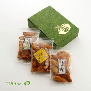 【潮来名物】【潮来にしくら】お餅3種詰合せ|otodoke-shopping
