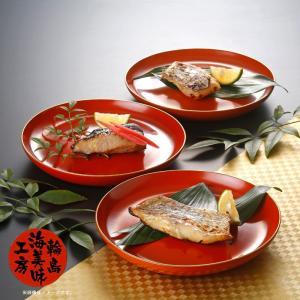 海女小屋のおさかなセット 五月鯛味噌漬、ぶり味噌漬、たら味噌漬|otodoke-shopping