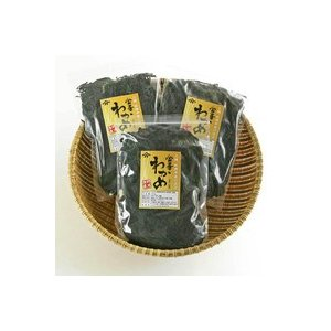 漁師直送!三陸牡鹿半島の至宝、最高級「金華わかめ」(湯通し塩蔵わかめ)300g×3袋セット|otodoke-shopping