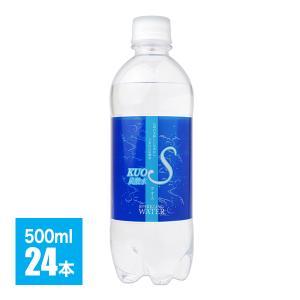 強炭酸水 クオス 500ml×24本 大分県日田産  炭酸水...