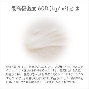低反発  マットレス シングル 2cm ヘブンズマット ウレタン 敷きパッド ベッドパッド ベッド|otogino|04