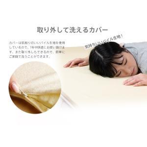 低反発  マットレス シングル 2cm ヘブンズマット ウレタン 敷きパッド ベッドパッド ベッド|otogino|07