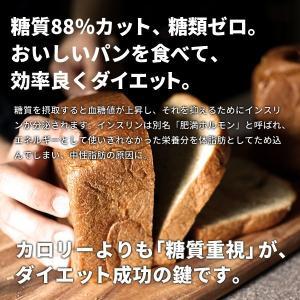 糖質オフ パン 糖質制限(強炭酸水仕込み)九州産小麦ふすま使用 天然素材 低糖質 食パン(1斤/ 530g)砂糖不使用 ダイエット食品|otogino|06