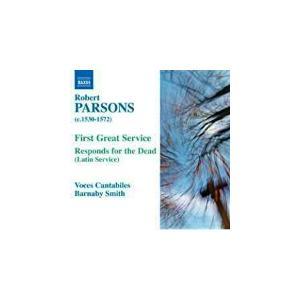 バーナビー・スミス /  パーソンズ:第一の大礼拝/死者への応答 他 中古クラシックCD