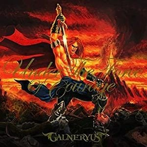 GALNERYUS  UNDER THE FORCE OF COURAGE (中古邦楽CD)