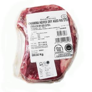 お歳暮 ギフト 牛肉 キアニーナ牛骨付きステーキ(Lボーンステーキ)Kgあたり20,225円 約800g不定貫 イタリア産IGP牛肉|otokonodaidokoro