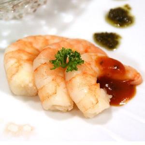シルクの口づけ「バナメイ海老」 200g16/18尾 ジタン食材 解凍してパックのまま湯煎するだけで極上のカクテルシュリンプ(茹で海老)に!|otokonodaidokoro