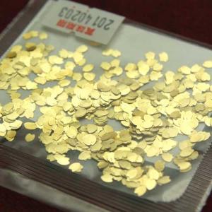 ハート型の金箔 食用金箔 お菓子のトッピングに スープの浮き身(常温)|otokonodaidokoro