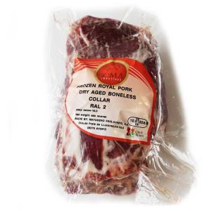 熟成肉「ラルポーク」 豚肩ロース肉ブロック 約1.5-2.0Kg(冷凍)スペイン産エイジングポーク otokonodaidokoro