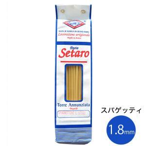 Setaro セタロ スパゲティ 1.8mm 500g 奇跡のパスタ(常温)|otokonodaidokoro