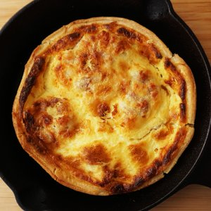 キッシュロレーヌ180gx2枚 タルトキッシュ 惣菜 フランス産 Quiche 卵タルト|otokonodaidokoro