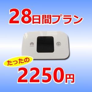 レンタルWi-Fi 28日間プラン
