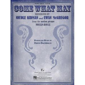 取寄 楽譜 Come What May 〔映画「ムーラン・ルージュ」より〕 | Kidman and Ewan McGregor  ピース|otorakuya