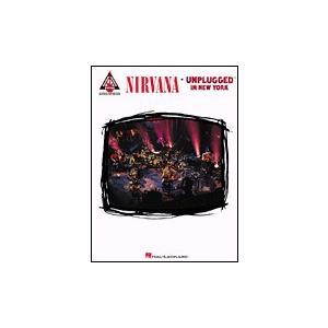 取寄 楽譜 Unplugged In New York   ニルヴァーナ   Nirvana  曲集・Guitar採譜版 otorakuya