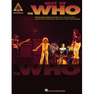 取寄 楽譜 Best Of The Who | ザ・フー 曲集・Guitar採譜版・タブ譜|otorakuya