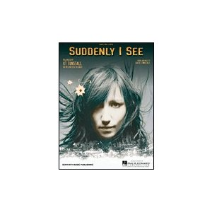 取寄 楽譜 Suddenly I See | KT Tunstall  ピース|otorakuya