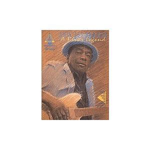 取寄 楽譜 A Blues Legend   ジョン・リー・フッカー   John Lee Hooker  曲集・Guitar採譜版・タブ譜 otorakuya